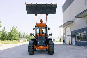 Construction Machinery 4.0 T Wheel Loader (excavator partner) with Ce, Rops&Fops Cabin pictures & photos