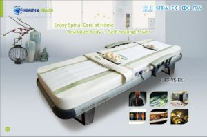 2017 Jade Roller Physiotherapy Massage Bed for Neck Back Pain (CE Certified) pictures & photos