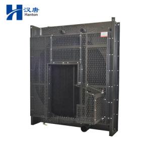 Cummins KTA38-G diesel engine motor cooler radiator for silent generator set pictures & photos