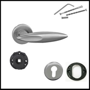 Best Selling 304 Stainless Steel Casting Lever Door Handles pictures & photos