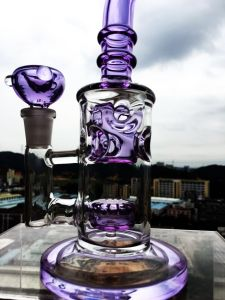 5 Honeycomb Perc Glass Smoking Water Pipe pictures & photos