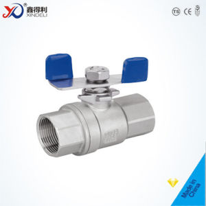 2 PC Stainless Steel Threaded End 1000wog Ball Valve of DIN 3202 pictures & photos