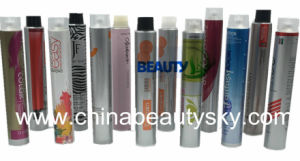 Cosmetic Packaging Hair Care Color Cream Body Cream Empty Aluminum Tube pictures & photos