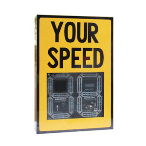 New Design Traffic Warning Light LED Radar Speed Sign pictures & photos
