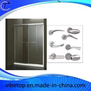 Top Quality Bathroom Accessories Stainless Steel Metal Door Handle pictures & photos