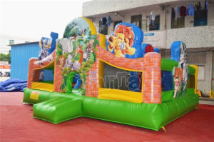 PVC inflatable Sport Game Obstacle with Slide (CHOB321-2) pictures & photos