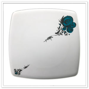 China Factory Directly Price FDA Approved Square Shape Dinner Plate pictures & photos