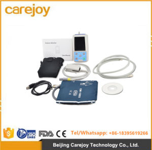 24h NIBP Holter Ambulatory Blood Pressure Monitor with USB Software-Candice pictures & photos