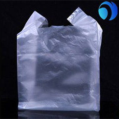 100% Virgin HDPE Colored Plastic T-Shirt Bag pictures & photos