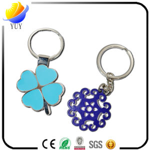 Best Selling of The Four Leaf Clover Shape Metal Key Chain pictures & photos
