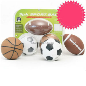 Mini 5 Inch Three Balls Set of Soccer Rugby Basketball pictures & photos