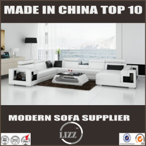 Modern Hotel Lobby Sofa Sectional U Shaped Leather Sofa pictures & photos