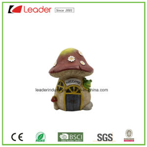 Newest Polyresin Mushroom House Fairy Garden Miniature for Home Decoration and Garden Ornaments pictures & photos