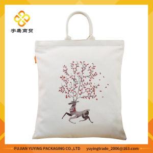 Customized Promotional Long Handle Cotton Bag pictures & photos