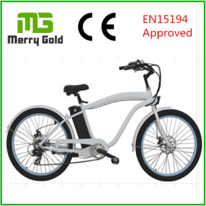 26*2.125 Tyre Ebike Beach Cruiser Electric Bike 36V 250W for Men pictures & photos