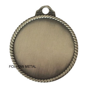 Blank Medal with Sticker in Middle Can Add Your Logo pictures & photos
