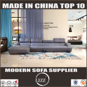Modern Style L Shape Leather Couch pictures & photos