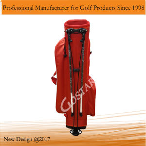 White and Red Nylon Golf Stand Bag pictures & photos