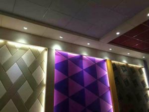 Sound Absorbing Wall High Density Polyester Fiber Acoustic Panel pictures & photos