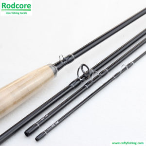 Eco 8FT6in 4PC 5wt Wooden Reel Seat Moderate Action Fly Fishing Rod pictures & photos