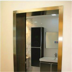 Price of 304 Grade PVD Colour Stainless Steel Door Profiles pictures & photos