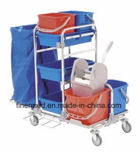 Soiled Hotel Cleaning Cart pictures & photos