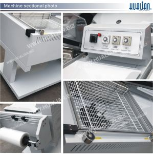 Hualian 2017 L-Seal Hood Shrink Packaging Machine (BSF-5540) pictures & photos