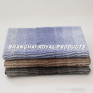 Dry Chenille Bath Mat Floor Mat pictures & photos