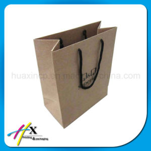 Wholesale Hot-Selling Kraft Paper Custom Shopping Bag for Food pictures & photos