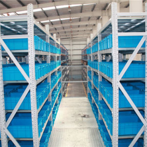 China Manufacturer 2 Levels Mezzanine with Steel Grating pictures & photos
