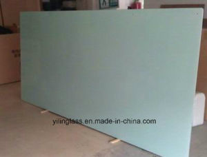 Color Painted Toughened Glass for Whiteboard pictures & photos