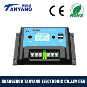 Manufaturing PWM 10A 20A Solar Charge Controller with LCD pictures & photos