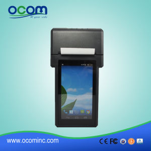 Handheld Android POS Terminal with Printer pictures & photos