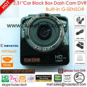New Full HD1080p Car DVR Built in G-Sensor, Motion Detection Car Black Box, 5.0mega 170degree View Angle Car Camera, Digital Video Recorder DVR-2414 pictures & photos