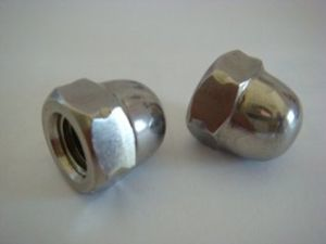 High Precision Carbon Steel Hexagon Dome Cap Nut Dome Nut pictures & photos
