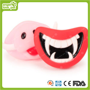Vinyl Squeaky Pet Fangs Pet Funny Product pictures & photos