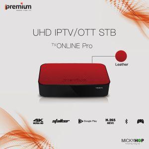 Ipremium TV Online PRO Amlogic S905X Quadcore Middleware Stalker Android 6.0 IPTV Box 4K pictures & photos