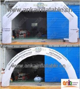 2017 Customized Logo Inflatable Print Spots Arch for out Event Use pictures & photos