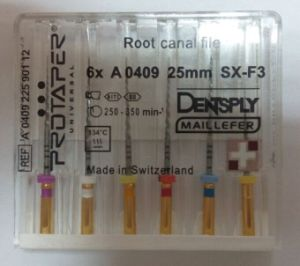 Ce Approved High Quality Dentsply Maillefer Niti Files (Rotary Files) pictures & photos