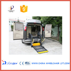 CE Dual-Arm Electrical & Hydraulic Wheelchair Lift (WL-D-880U) pictures & photos