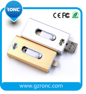 3 in 1 OTG Flash Drive USB Use for Mobilephone pictures & photos