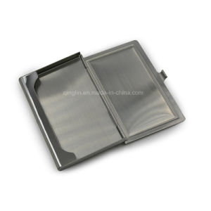 Promotion Gifts Metal Name Card Case with Customized Logo pictures & photos