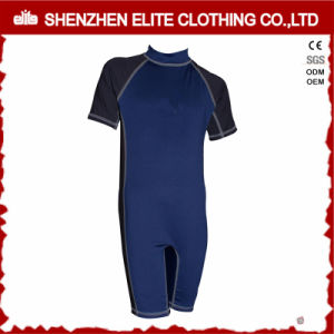 Navy Blue Boys Swimwear Rash Guards One Piece (ELTRGI-60) pictures & photos