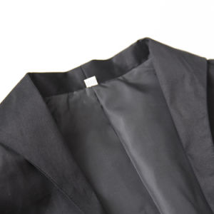 Black Capelet Shirt Shawl 100% Cotton Short Waistcoat pictures & photos