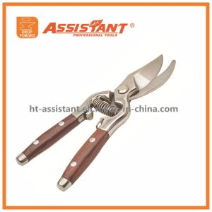 Hand Tools Drop Forged Bypass Garden Scissors Branch Pruner pictures & photos