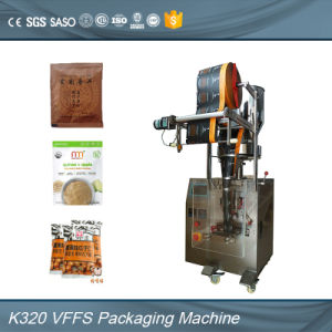 PLC Automatic Sugar Salt Pepper Monosodium Glutamate Granule Packing Machine pictures & photos
