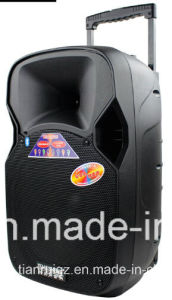 12 Inch Loudspeaker Box Built in Bluetooth Amplifier Wireless Microphone F87 pictures & photos