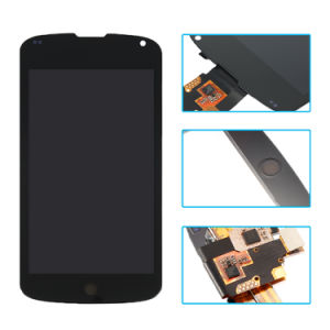 Mobile Phone LCD for LG Google Nexus 4 E960 - LCD Display & Digitizer Touch Screen Assembly pictures & photos