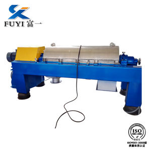 Horizontal Decanter Sunflower Oil Cleaning Centrifuge