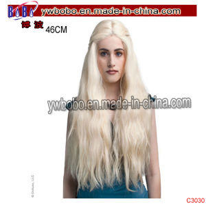 Kids Halloween Party Ornaival Lace Wigs Novelty Party Supplies (C3030) pictures & photos